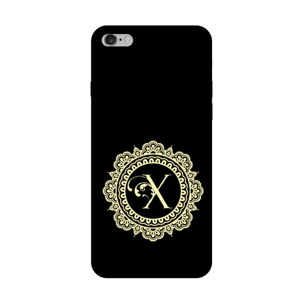 Hamee - Alphabet 'X' - Designer Printed Hard Back Case Cover for Vivo V5 Plus-Hamee India