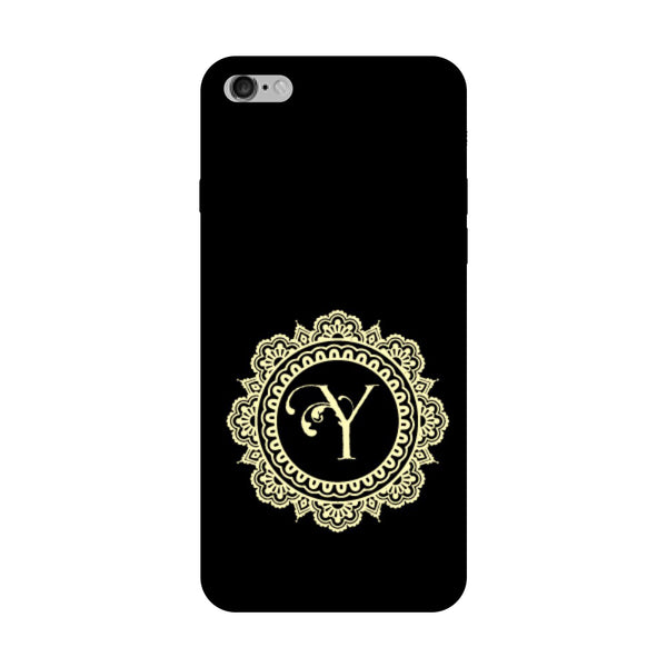 Hamee - Alphabet 'Y' - Designer Printed Hard Back Case Cover for Vivo V5 Plus-Hamee India