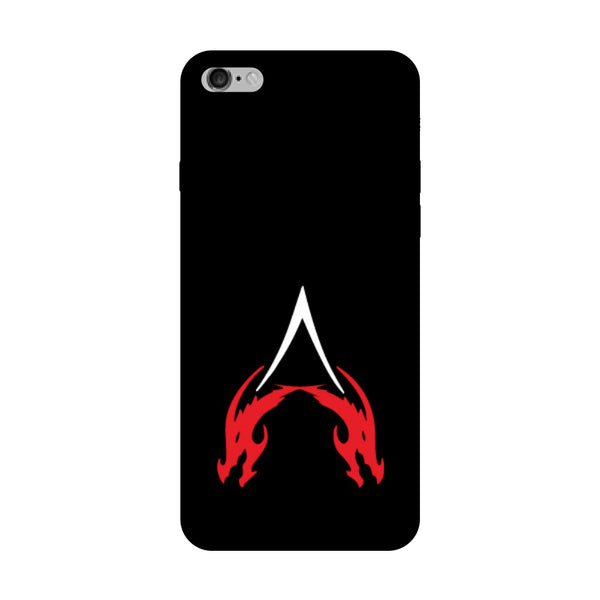 Hamee - Dragon Alphabet 'A' - Printed Hard Back Case Cover for Oppo F1s-Hamee India