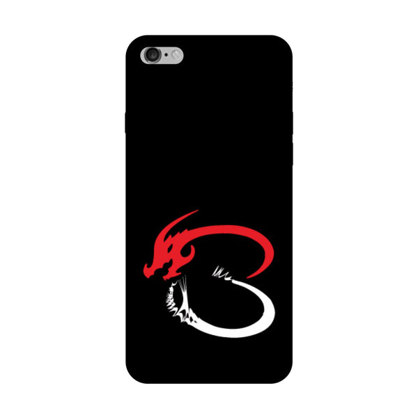Hamee - Dragon Alphabet 'B' - Printed Hard Back Case Cover for Oppo F1s-Hamee India
