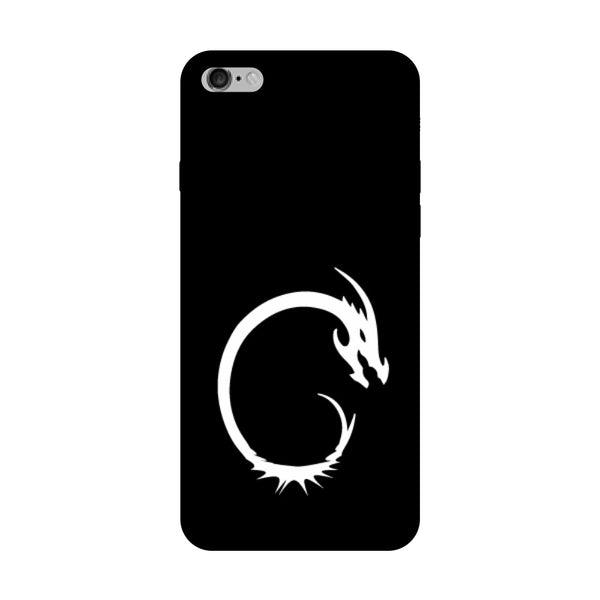 Hamee - Dragon Alphabet 'C' - Printed Hard Back Case Cover for Oppo F1s-Hamee India