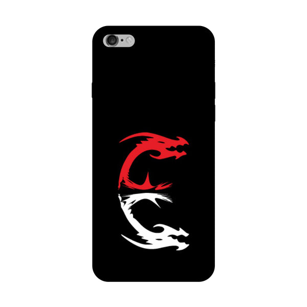 Hamee - Dragon Alphabet 'E' - Printed Hard Back Case Cover for Oppo F1s-Hamee India