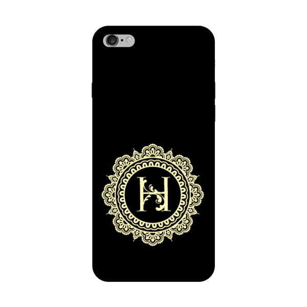 Hamee - Alphabet 'H' - Designer Printed Hard Back Case Cover for Vivo V5 Plus-Hamee India