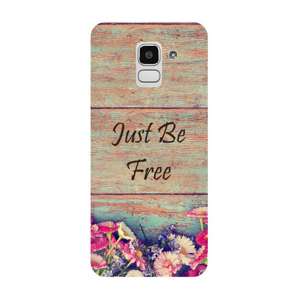 Be Free Samsung Galaxy J8 Back Cover-Hamee India