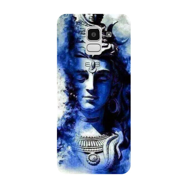 Blue Shiva Samsung Galaxy J8 Back Cover-Hamee India