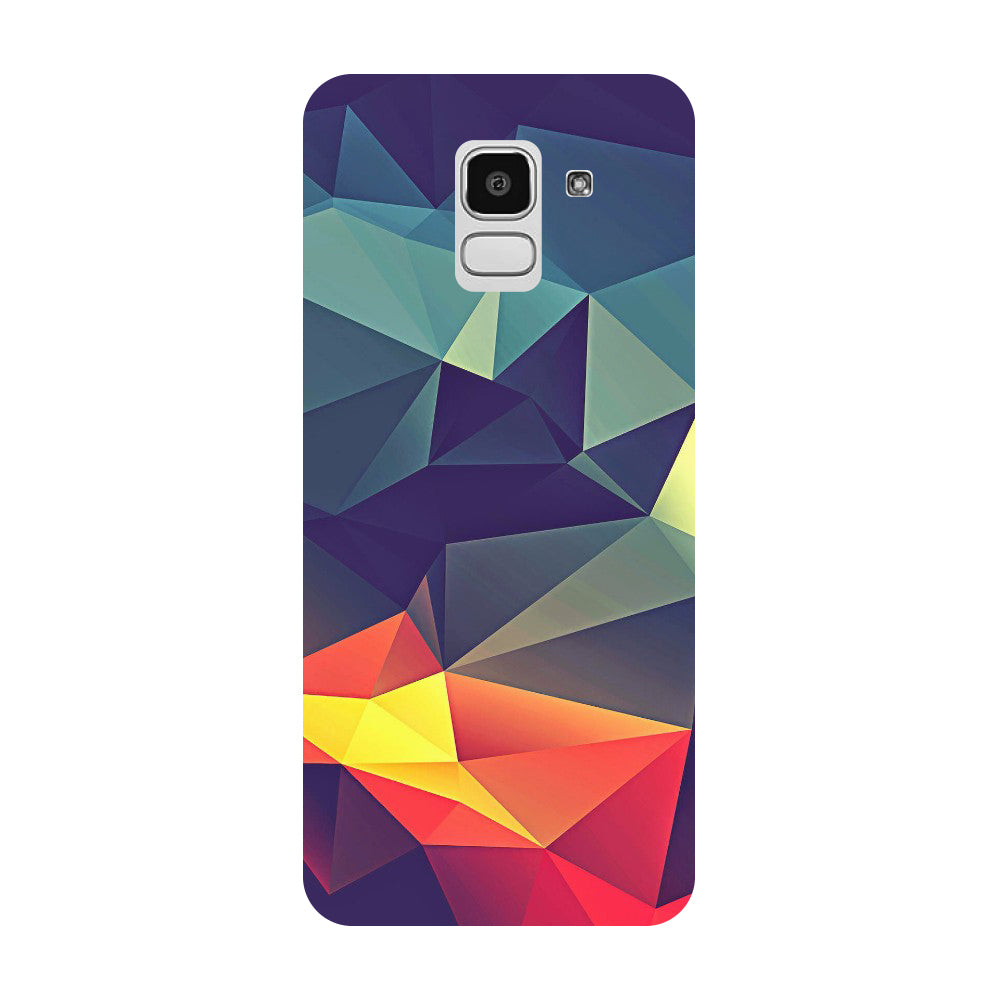 Abstract Samsung Galaxy J8 Back Cover-Hamee India