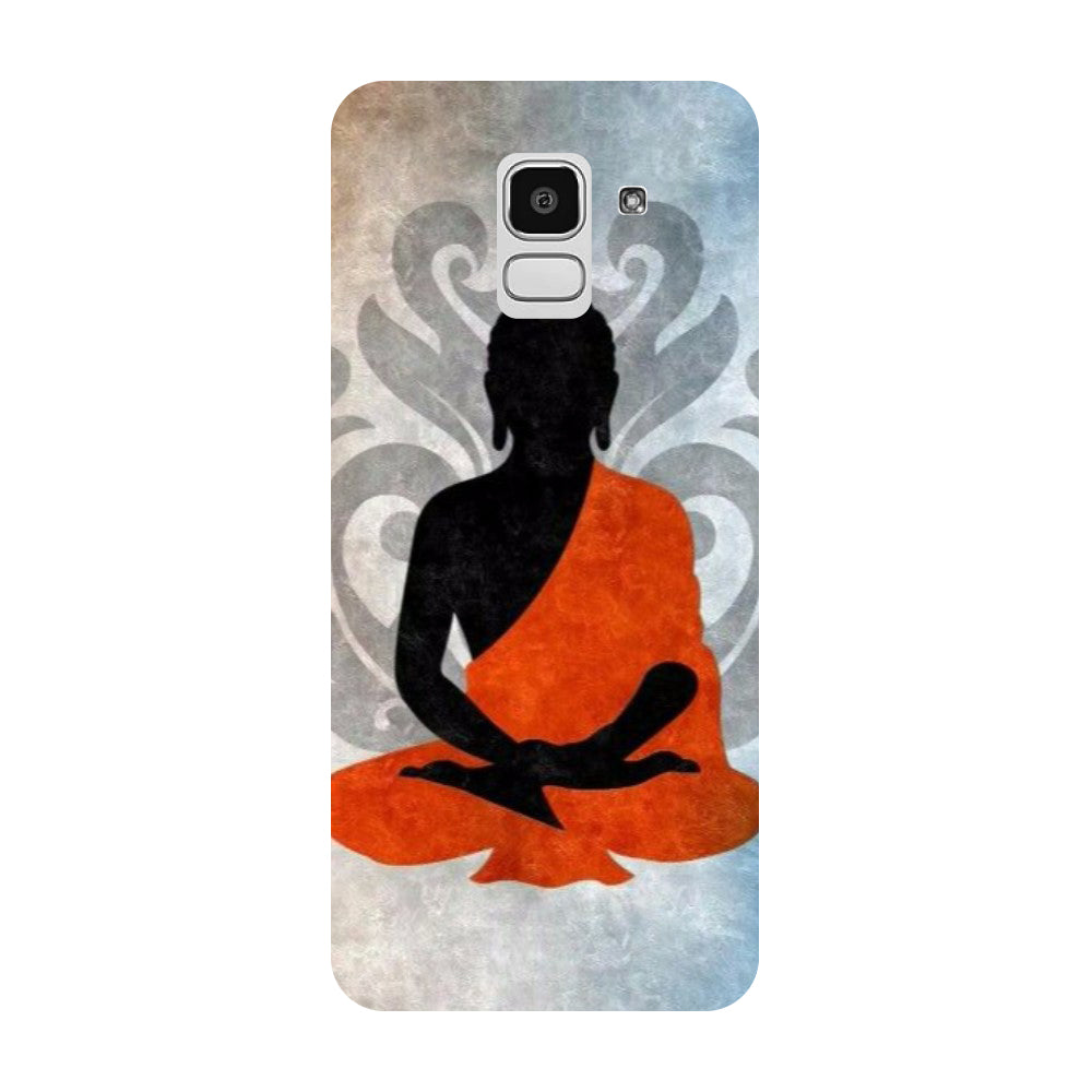 Yoga Samsung Galaxy J8 Back Cover-Hamee India