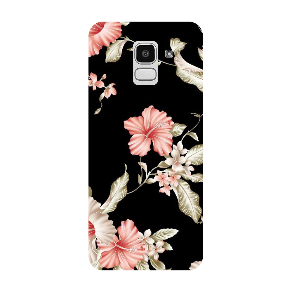 finest selection 78910 0c755 Flowers Samsung Galaxy J8 Back Cover