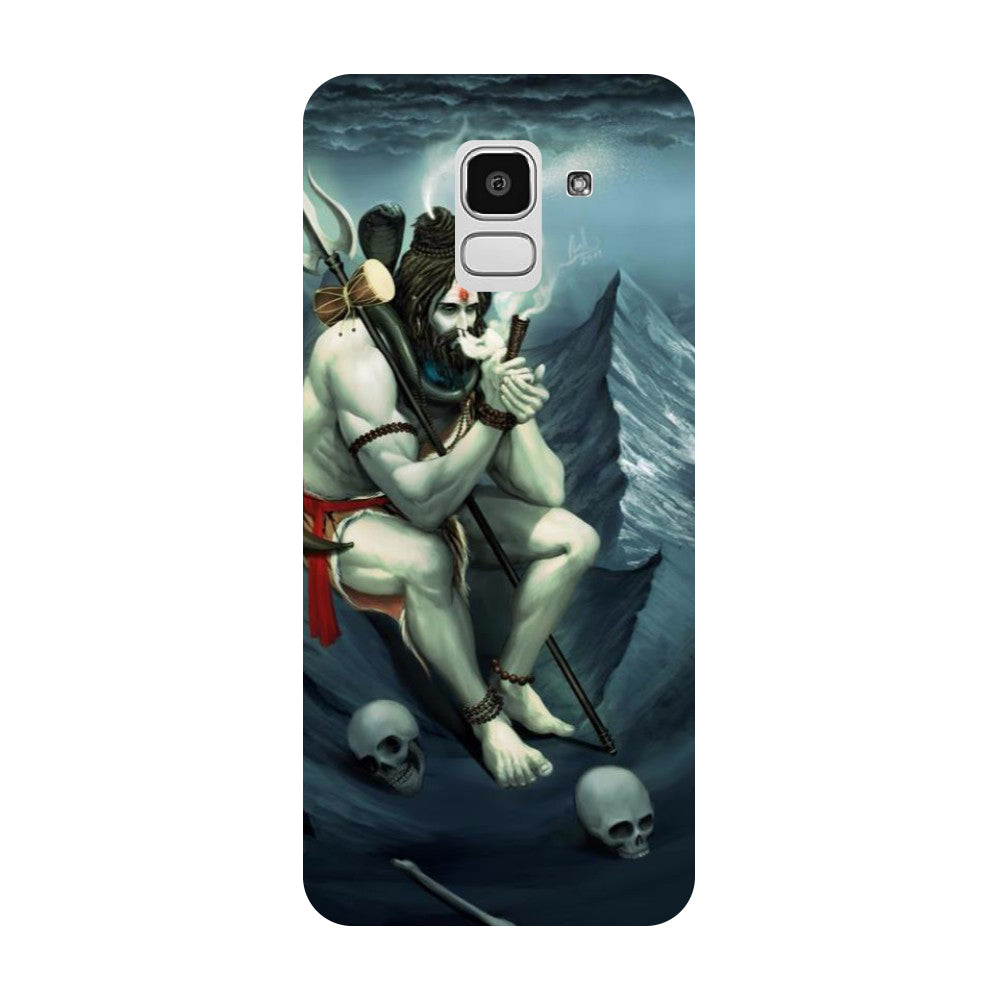 Hamee- Aghori-Printed Hard Back Case Cover For Samsung Galaxy J8 (2018)
