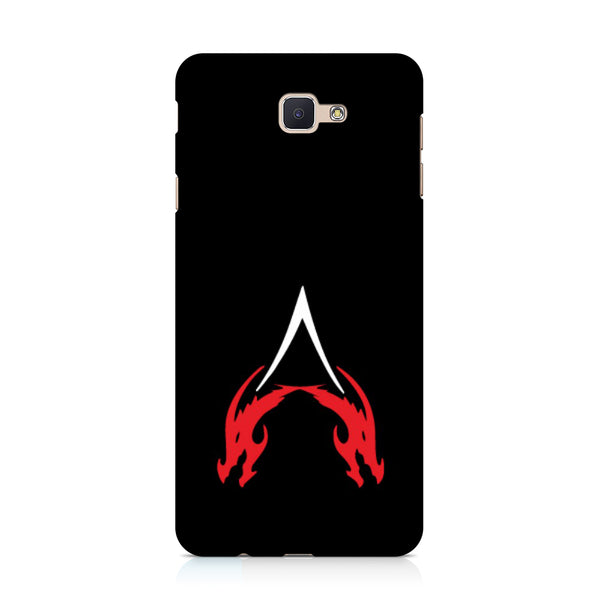 Hamee - Dragon Alphabet 'A' - Printed Hard Back Case Cover for Samsung Galaxy j7 Prime-Hamee India
