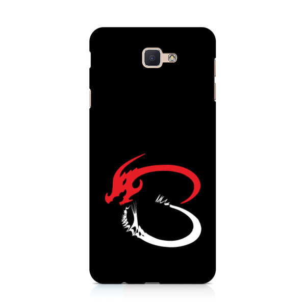 Hamee - Dragon Alphabet 'B' - Printed Hard Back Case Cover for Samsung Galaxy j7 Prime-Hamee India