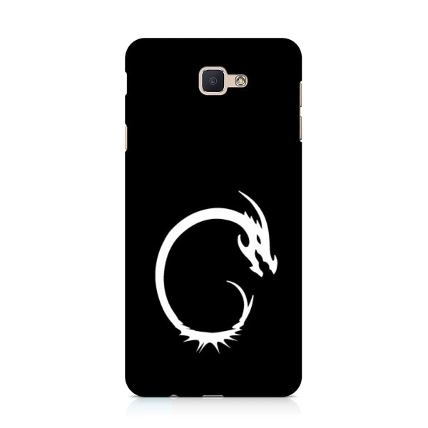 Hamee - Dragon Alphabet 'C' - Printed Hard Back Case Cover for Samsung Galaxy j7 Prime-Hamee India