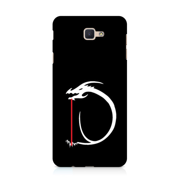 Hamee - Dragon Alphabet 'D' - Printed Hard Back Case Cover for Samsung Galaxy j7 Prime-Hamee India