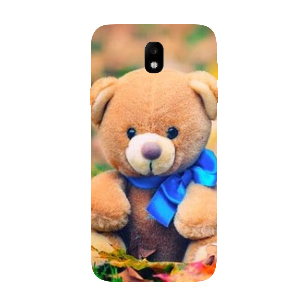 new product b9e74 18376 Hamee - Teddy - Designer Printed Hard Back Case Cover for Samsung Galaxy J7  Pro