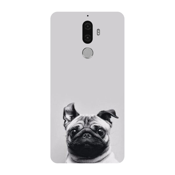 Hamee - Pug - Designer Printed Hard Back Case Cover for Lenovo K8 Note-Hamee India
