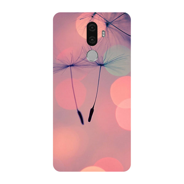 Hamee - Floating Buds - Designer Printed Hard Back Case Cover for Lenovo K8 Note-Hamee India