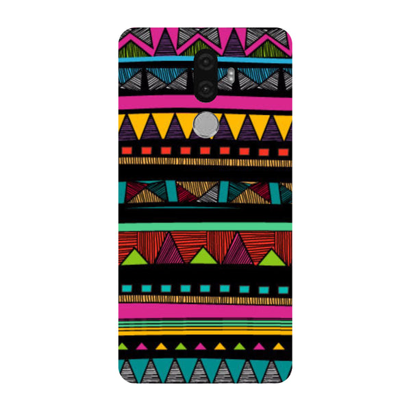 Hamee - Tribal Pattern - Designer Printed Hard Back Case Cover for Lenovo K8 Note-Hamee India