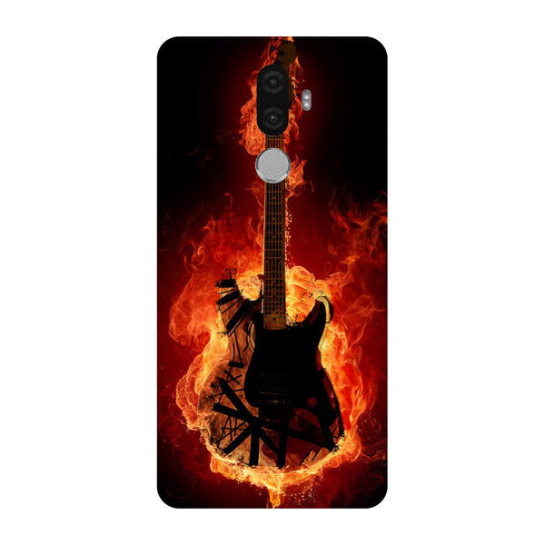 Hamee - Guitar - Designer Printed Hard Back Case Cover for Lenovo K8 Note-Hamee India
