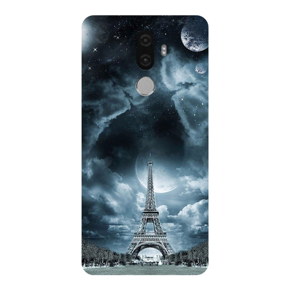 Hamee - Night in Paris - Designer Printed Hard Back Case Cover for Lenovo K8 Note-Hamee India