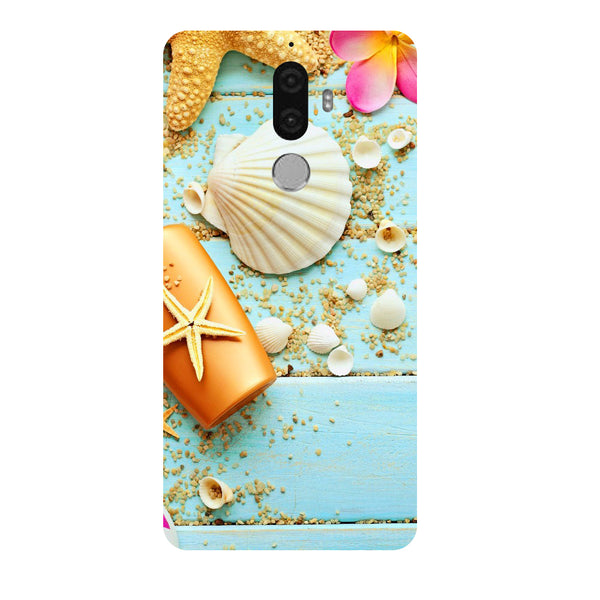 Hamee - Shells - Designer Printed Hard Back Case Cover for Lenovo K8 Note-Hamee India