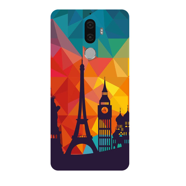 Hamee - City Life - Designer Printed Hard Back Case Cover for Lenovo K8 Note-Hamee India