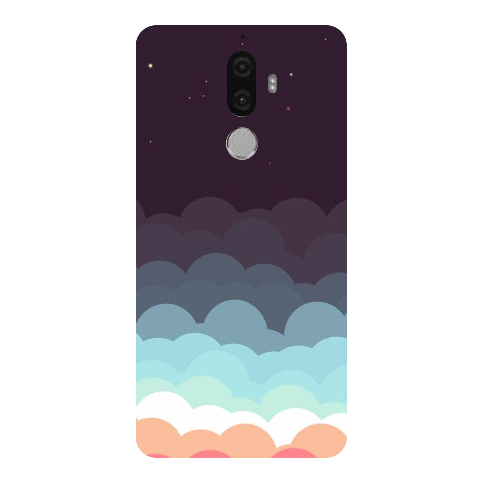 Hamee - Clouds - Designer Printed Hard Back Case Cover for Lenovo K8 Note