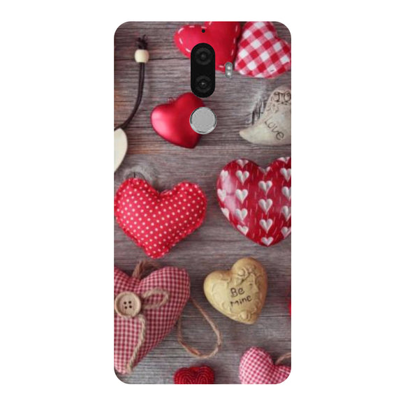 Hamee - Hearts & Love - Designer Printed Hard Back Case Cover for Lenovo K8 Note-Hamee India