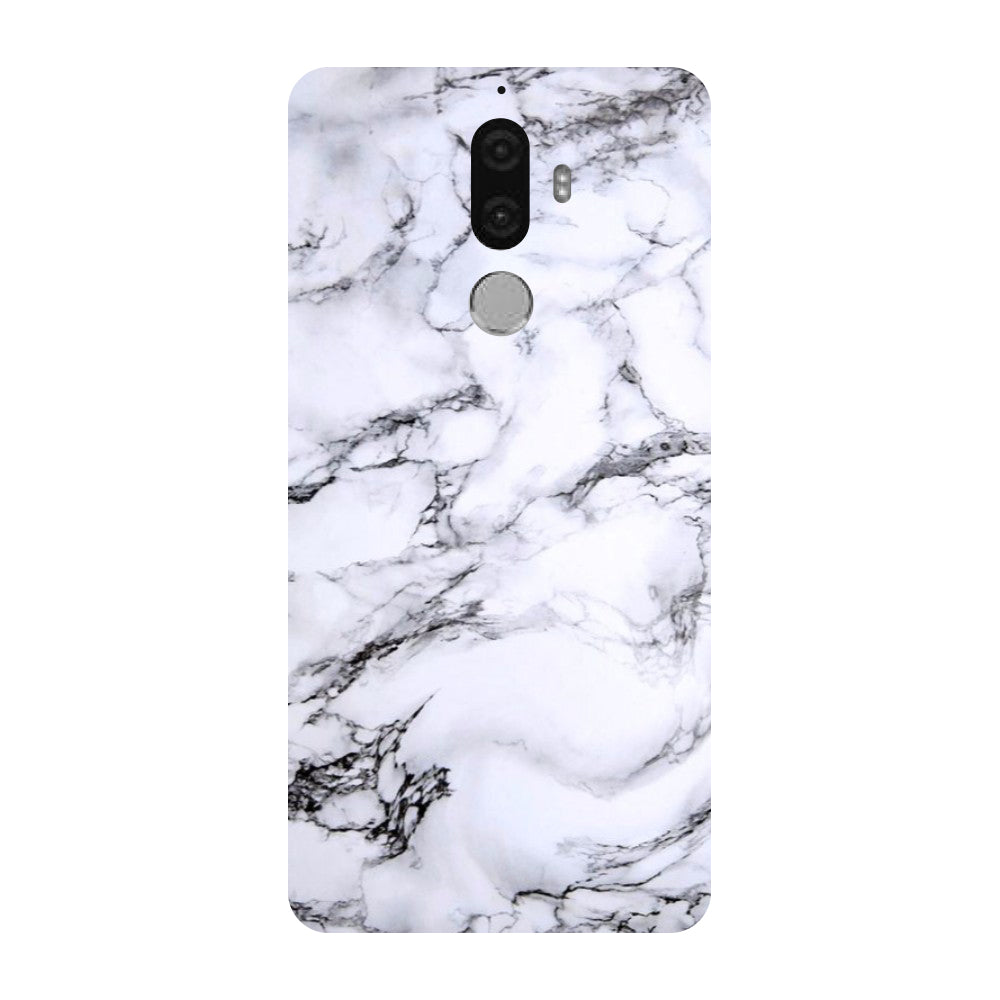 Hamee - Marble - Designer Printed Hard Back Case Cover for Lenovo K8 Note