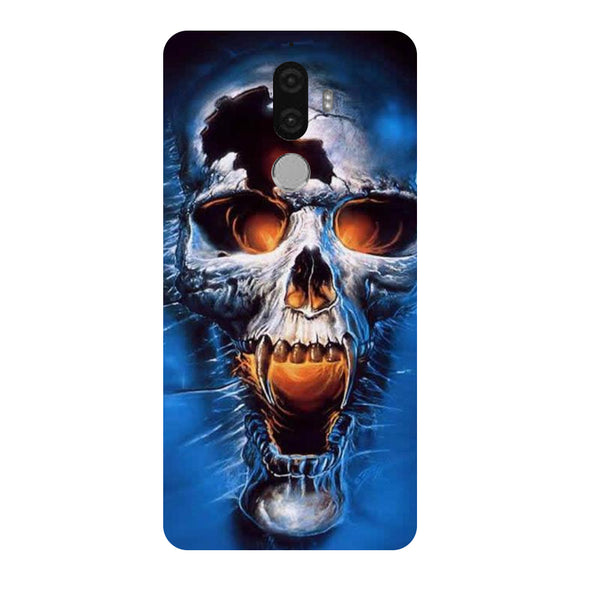 Hamee - Skull - Designer Printed Hard Back Case Cover for Lenovo K8 Note-Hamee India