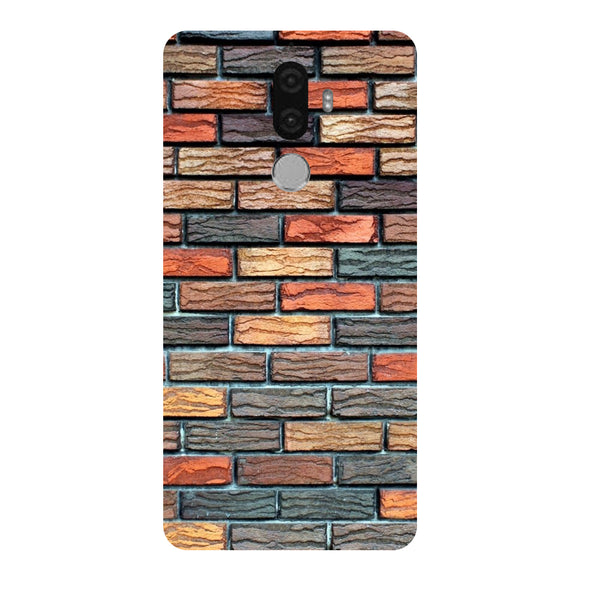 Hamee - Bricks - Designer Printed Hard Back Case Cover for Lenovo K8 Note-Hamee India