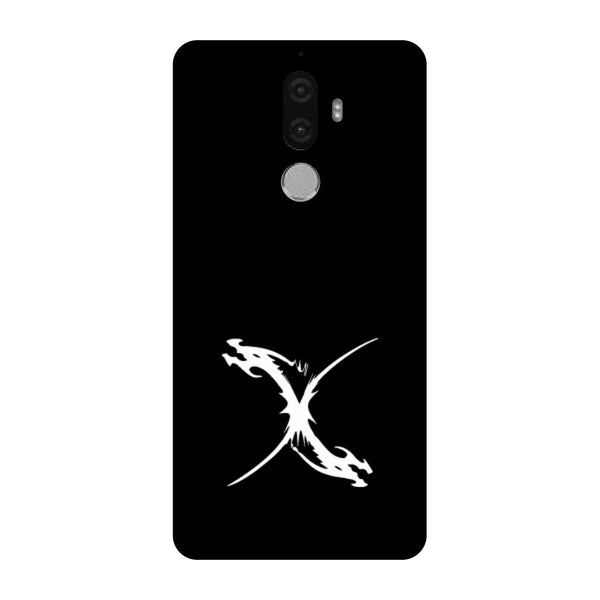Hamee - Dragon Alphabet 'X' - Printed Hard Back Case Cover for Lenovo K8 Note-Hamee India