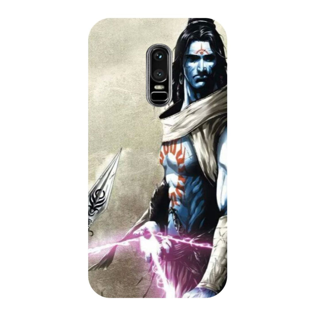 Shiva Side OnePlus 6 Back Cover-Hamee India