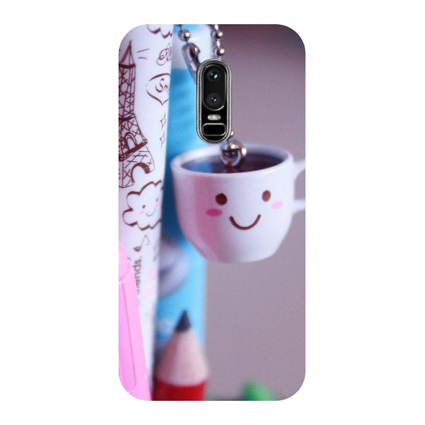 Cup OnePlus 6 Back Cover-Hamee India
