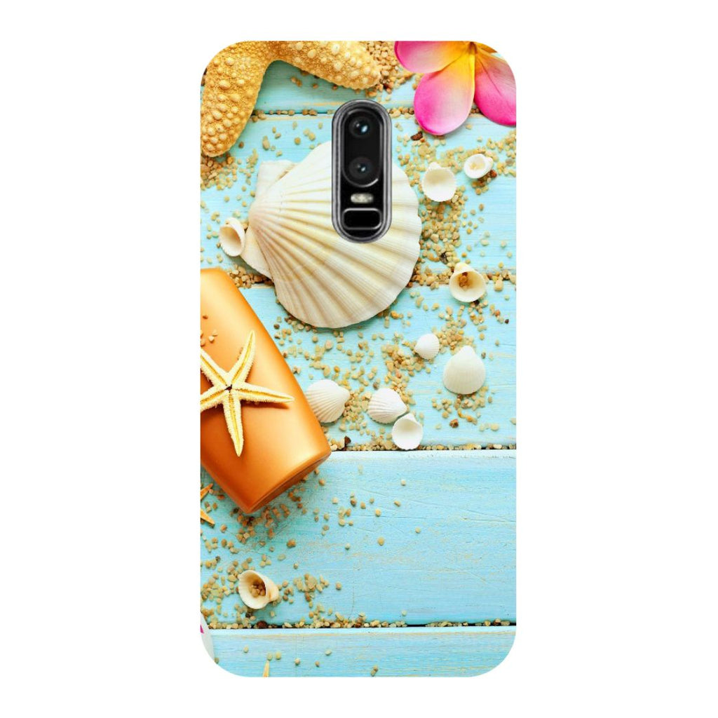 Shells OnePlus 6 Back Cover-Hamee India