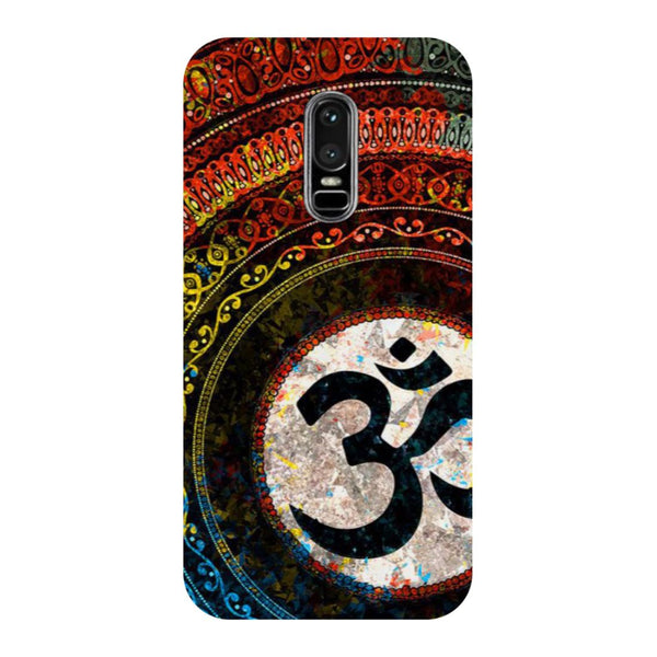 Om OnePlus 6 Back Cover-Hamee India