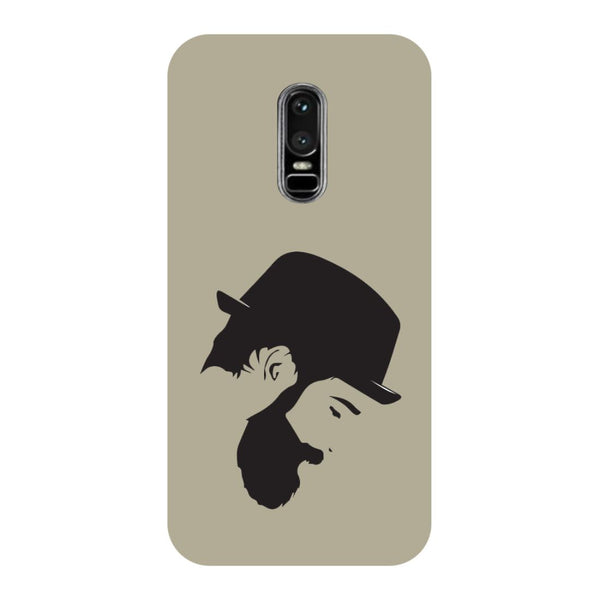 Beard- Printed Hard Back Case Cover for OnePlus 6