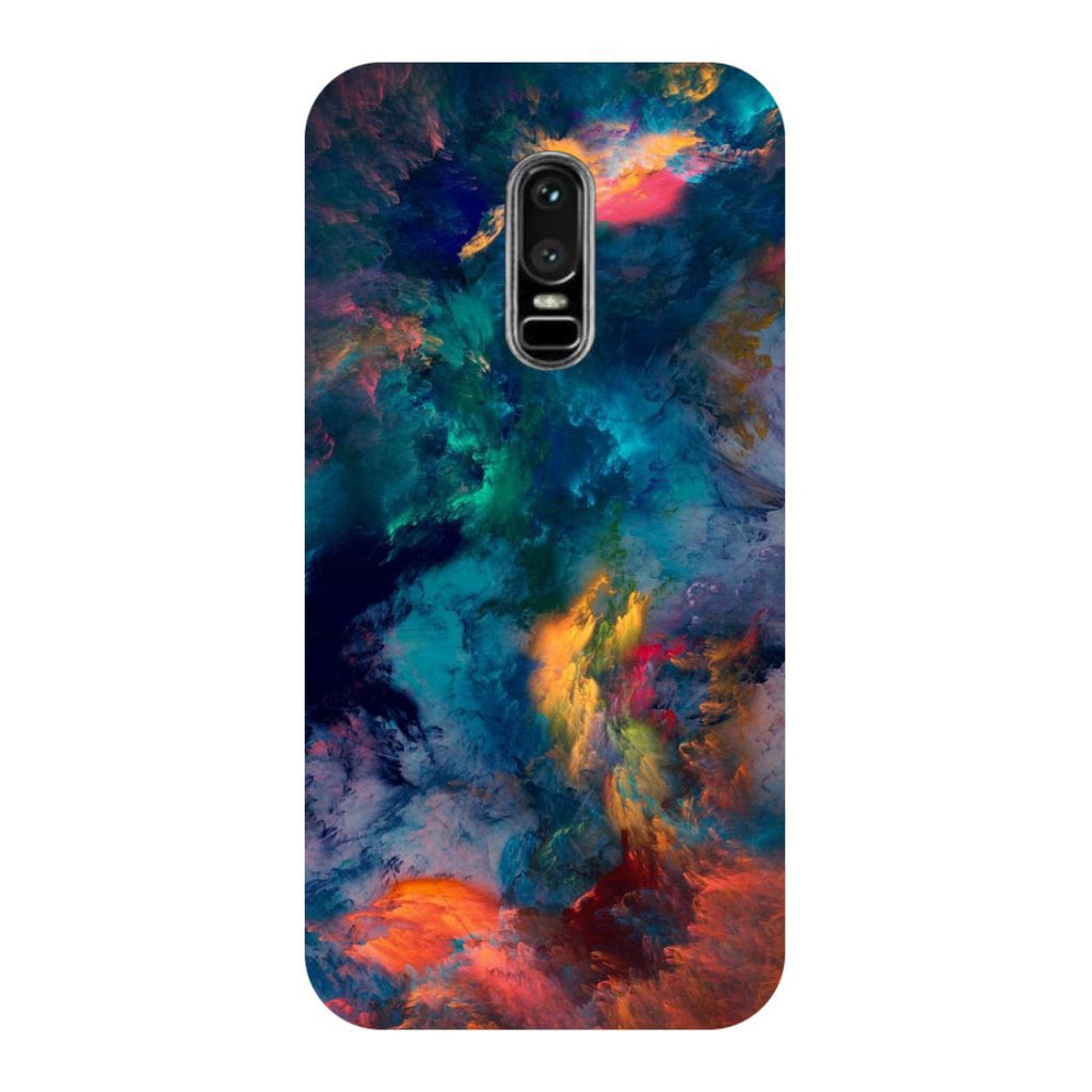 Abstract Fumes OnePlus 6 Back Cover-Hamee India