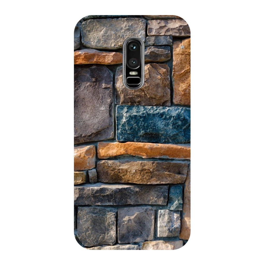 Stone Wall OnePlus 6 Back Cover-Hamee India