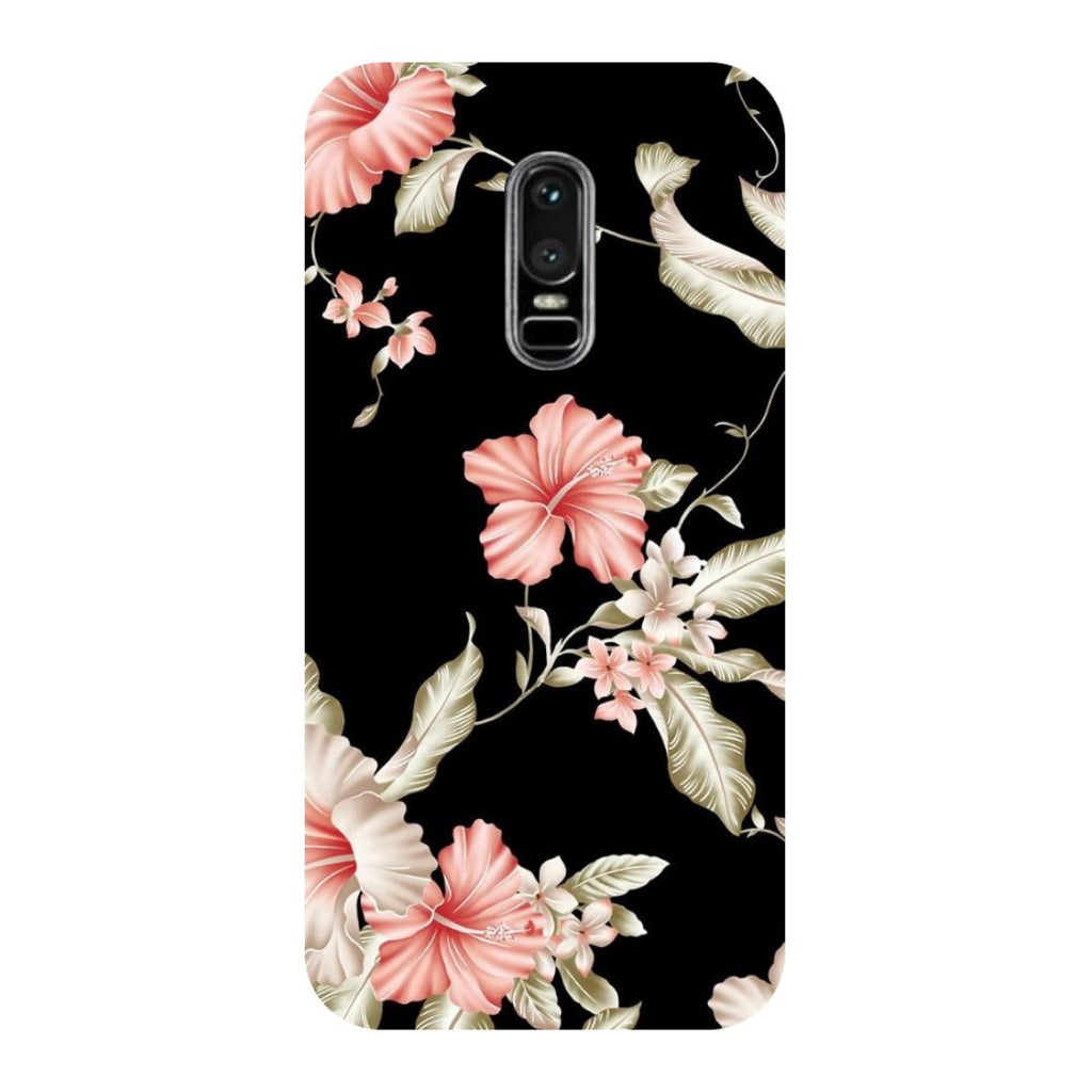 Flowers OnePlus 6 Back Cover-Hamee India