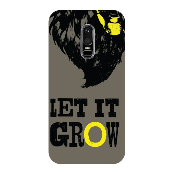 Let it Grow OnePlus 6 Back Cover-Hamee India