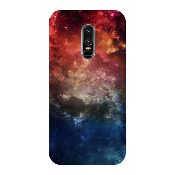 Space- Printed Hard Back Case Cover for OnePlus 6