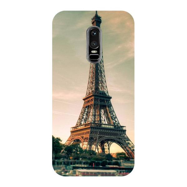 Eiffel OnePlus 6 Back Cover-Hamee India