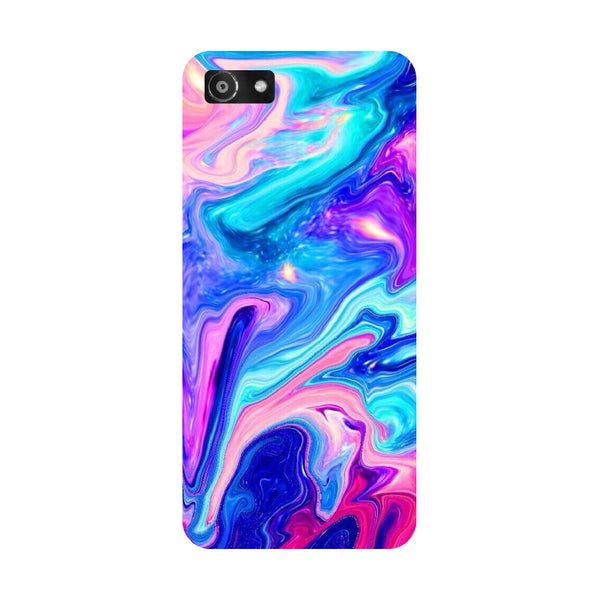 Hamee- Abstract paint-Printed Hard Back Case Cover For Oppo RealMe 1