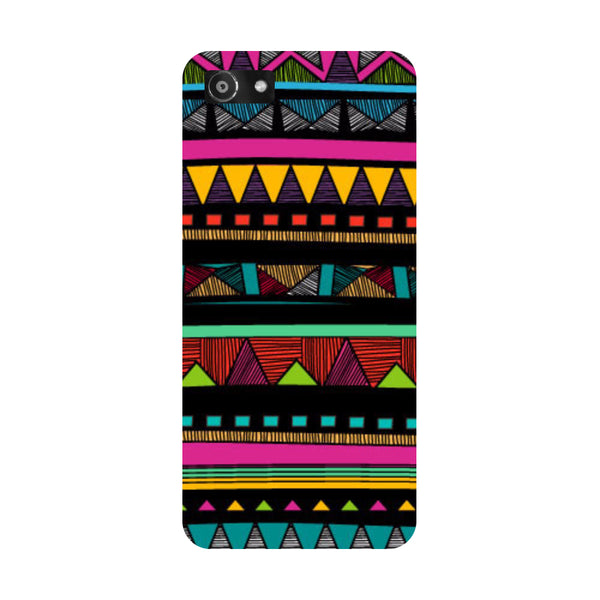 Hamee- Tribal-Printed Hard Back Case Cover For Oppo RealMe 1