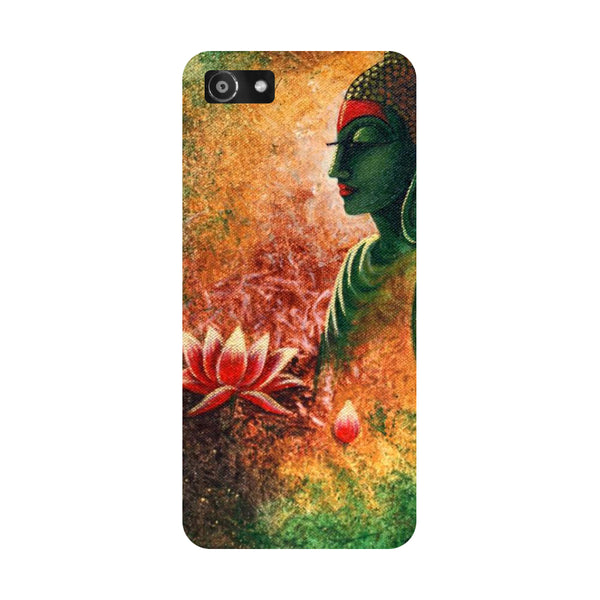 Hamee- Buddha side pose-Printed Hard Back Case Cover For Oppo A3