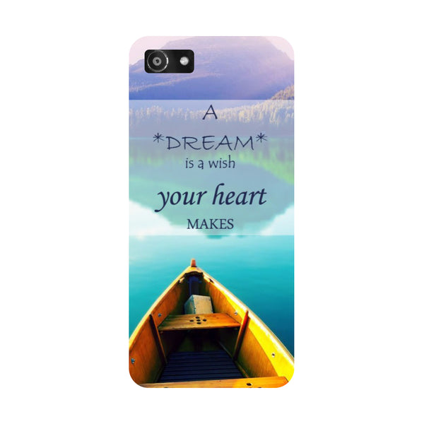 Hamee- Boat-Printed Hard Back Case Cover For Oppo A3
