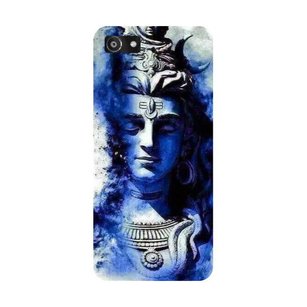 Hamee- Blue shiva-Printed Hard Back Case Cover For Oppo A3