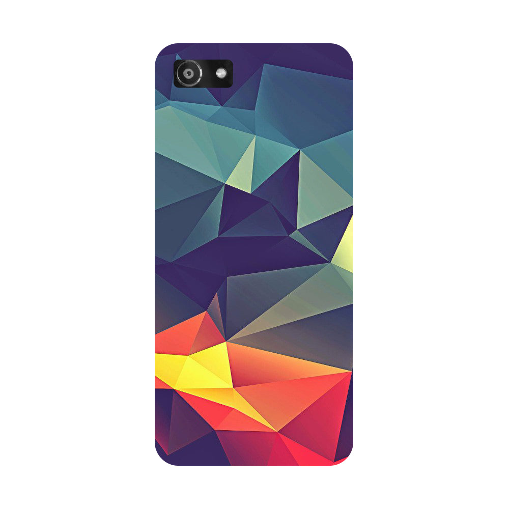 Hamee- Abstract-Printed Hard Back Case Cover For Oppo RealMe 1