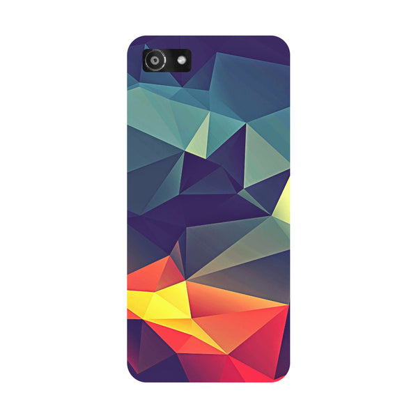 Hamee- Abstract-Printed Hard Back Case Cover For Oppo A3