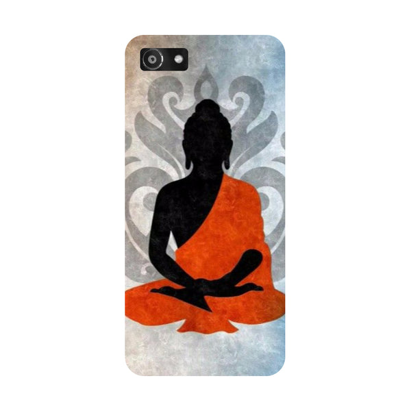 Hamee- Yoga-Printed Hard Back Case Cover For Oppo RealMe 1